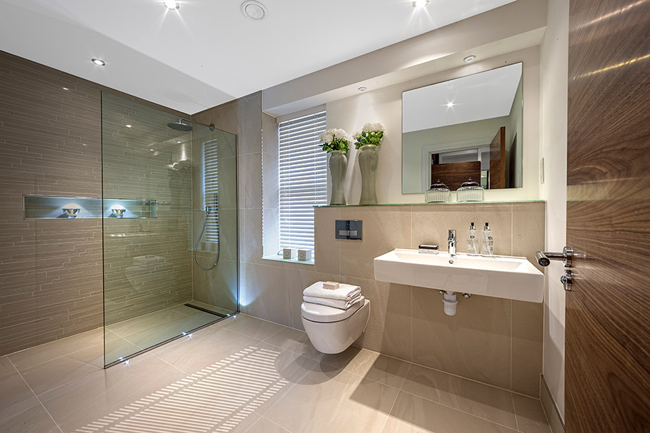 Interiors for those who admire the details for Bathroom interior design rules